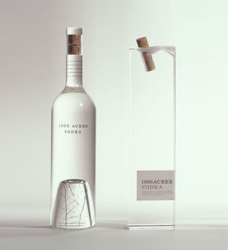 1000 Acres Vodka Packaging by Arnell | timms brand design | Scoop.it