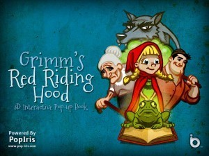 Sunday {App}etizers: Red Riding Hood by PopIris Books   There's A Book   Children's Literature   Scoop.it