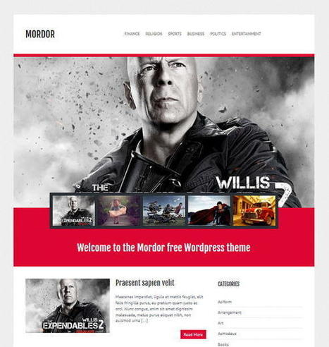30+ Free Wordpress Themes | Templates Of 2013 | Coderops | Template & Webdesign | Scoop.it