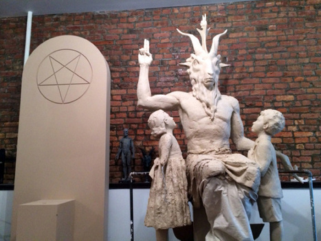 Some Guy Drove a Car Into Oklahoma's Ten Commandments Monument, Satanic Statue's Future Is Uncertain   VICE United States   Satanism   Scoop.it