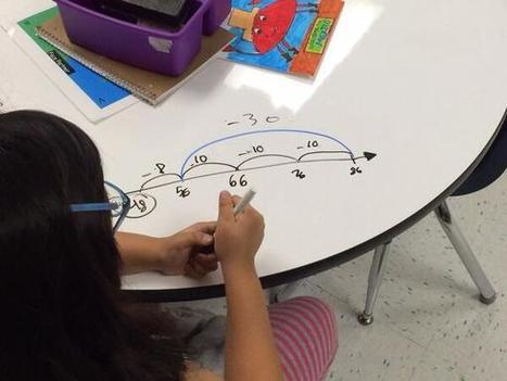 Twitter / vikki_lange: using the count back strategy ... | First grade math | Scoop.it