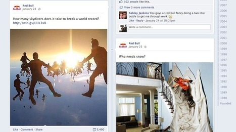 How Red Bull uses Facebook, Twitter, Pinterest and Google+   Ginga by SB   Scoop.it