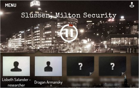 Apps Are Media: Chasing Salander Expands The Dragon Tattoo Story | Transmedia: Storytelling for the Digital Age | Scoop.it