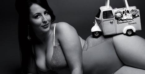 Calendrier de femmes rondes : découvrez Beautiful Curvy 2014 | Plus-Size Fashion | Scoop.it