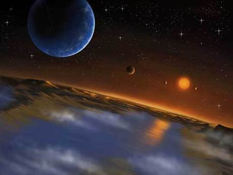 """Endless Oceans"" --Kepler Reveals Planets Unlike Anything in Our Solar System 