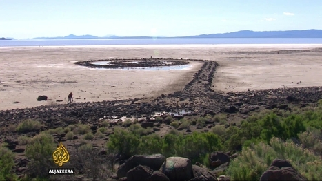 Utah's Great Salt Lake shrinks as water use increases | Farming, Forests, Water, Fishing and Environment | Scoop.it