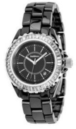 Baldinini Lady's watch in Ceramic with Swarovski Elements – Black | Top quality watches | Scoop.it