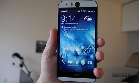 Test du HTC Desire Eye - Begeek.fr | test | Scoop.it