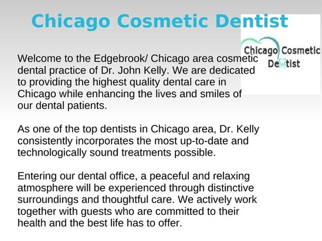 invisalign dentist in Chicago Dr Kelly | edocr | Dental Care | Scoop.it