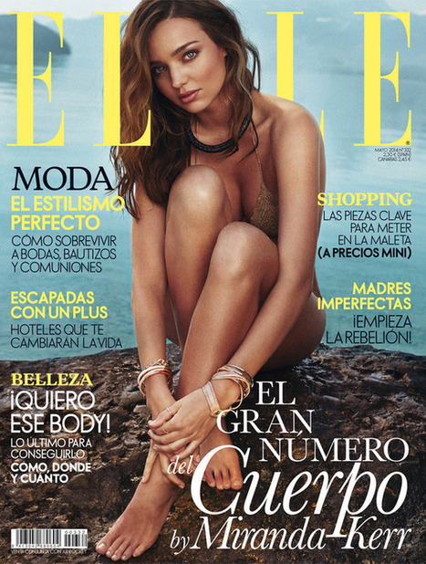 Miranda Kerr Stuns on Elle Spain May 2014 Cover | TAFT: Trends And Fashion Timeline | Scoop.it