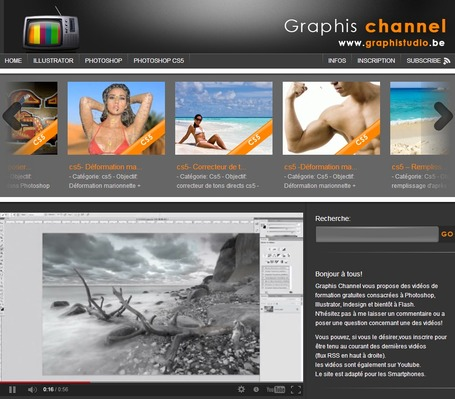 Graphis channel - tutoriels consacrés à Photoshop cs6 et Illustrator cs6 | formation 2.0 | Scoop.it