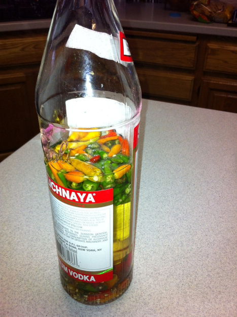Flavor and spice booster for your mixed drinks - Stolichnaya with a kick! | Food for Foodies | Scoop.it