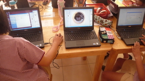 Panorama Planet Laptop Project with Year 5 - Asia Region Art Educators | Art Teaching Ideas | Scoop.it