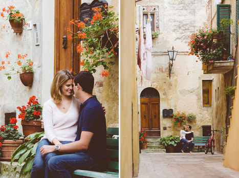 Love story photography in Tuscany | Romantic photo session in ... | love story photography in tuscany | Scoop.it