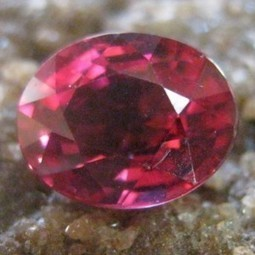 Batu Mulia Natural Garnet Rhodolite Purplish Pink 1.40 Carat | ambisi pribadi | Scoop.it