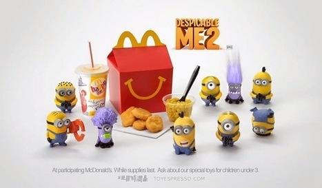 McDonald's : de l'impression 3D pour les jouets du Happy Meal | c créatif | Scoop.it