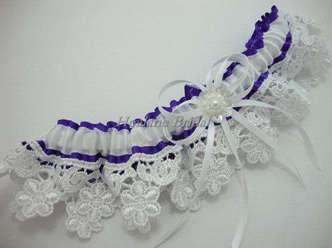 Lace garter, lace trim garter, Bridal garter | Wedding Garters | Scoop.it
