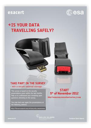 WOOI®: la nuova immagine per la campagna Security Survey di ESA | Off-line Communication | Scoop.it