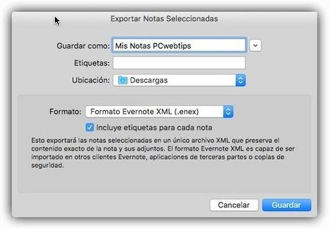 PCWebtips: Cómo exportar sus Notas de Evernote a OneNote y Google Keep | Educacion, ecologia y TIC | Scoop.it