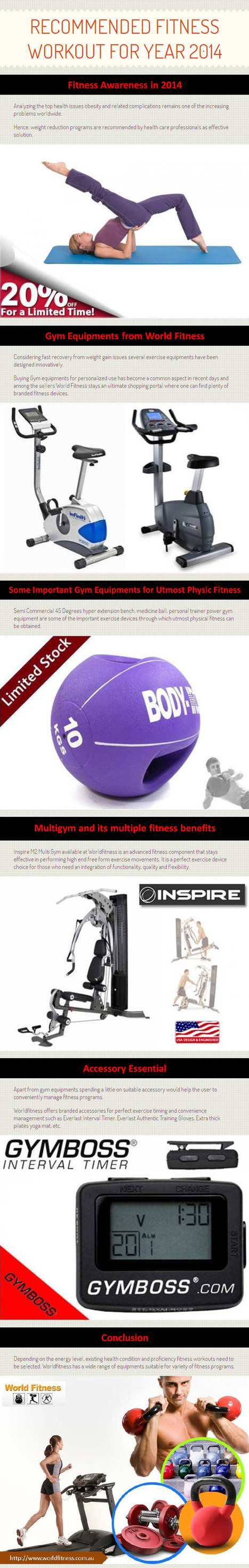 Recommended Fitness Workout for year 2014 by www.worldfitness.com.au   worldfitness   Scoop.it