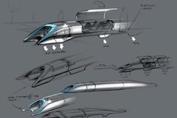 Le projet Hyperloop du génial Elon Musk en détails | Le Monde en Chantier | Scoop.it