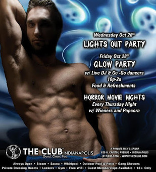 Club Indianapolis Newsletter - October 2016 | Gay Saunas from Around the World | Scoop.it