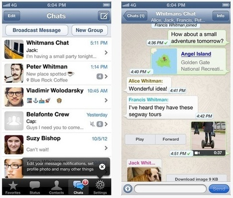 WhatsApp sets new record with 27 billion messages in a day | Mobile (Post-PC) in Higher Education | Scoop.it