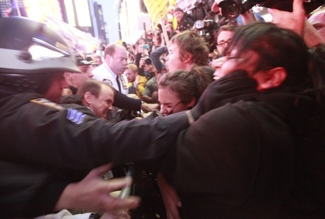 Protest pandemonium as mob descends on Times Square | Agora Brussels | Scoop.it