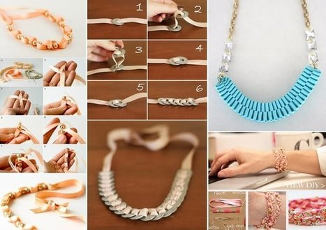 10 Lovely Ribbon Jewelry Ideas for You to Try   Stylish Board   Scoop.it