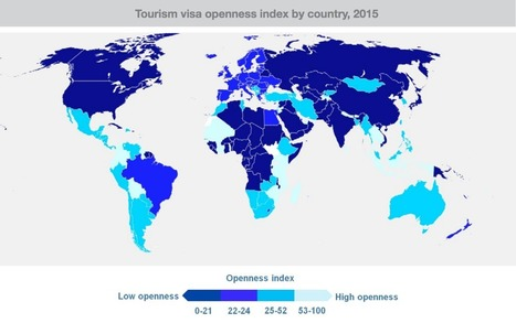 6 Charts That Explain the State of Global Tourist Visas in 2016 | Tourism Innovation | Scoop.it