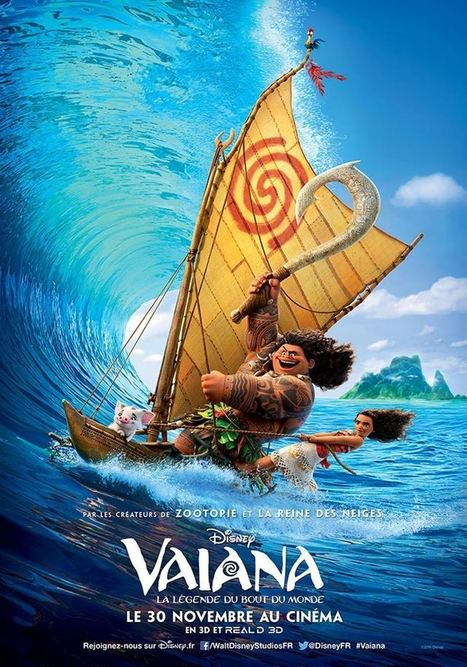 VAIANA, LA LÉGENDE DU BOUT DU MONDE de John Musker & Ron Clements [Critique Ciné] - Freakin' Geek | Freakin' Geek | Scoop.it