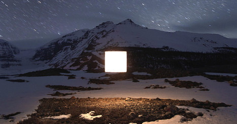 Weird Glowing Squares Run Rampant in the Canadian Wilderness | Strange days indeed... | Scoop.it