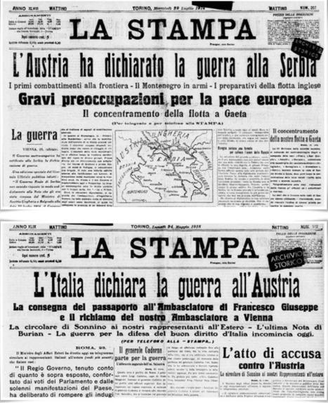 Giocatori in trincea ovvero come la guerra cambiò lo sport | Blogs Italia | Scoop.it