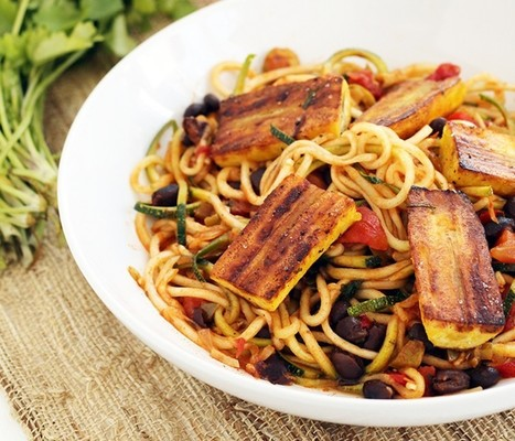 Lighten Up Summer Meals With These 15 Vegan Spiralized Noodle Dishes   My Vegan recipes   Scoop.it