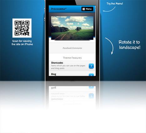 Provocateur, Premium WordPress jQuery Mobile Theme   WP Download   themestinmin   Scoop.it
