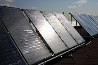 Solar panels can be used to provide heating and air conditioning - Science Codex | Thinking Of Best Way To Do It | Scoop.it