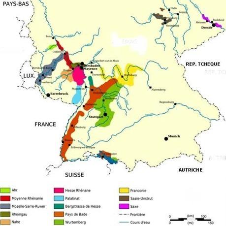 Allemagne - régions viticoles | Allemagne tourisme et culture | Scoop.it