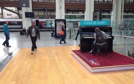 Le succès des pianos dans les gares   DESARTSONNANTS - CRÉATION SONORE ET ENVIRONNEMENT - ENVIRONMENTAL SOUND ART - PAYSAGES ET ECOLOGIE SONORE   Scoop.it