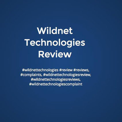 Wildnet Technologies Reviews #wildnettechnologiesreviews | Wildnet Technologies Reviews #wildnettechnologiesreviews | Scoop.it