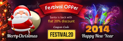 Agriya Announces Flat 20% discount for Christmas and New Year | Technology | Scoop.it