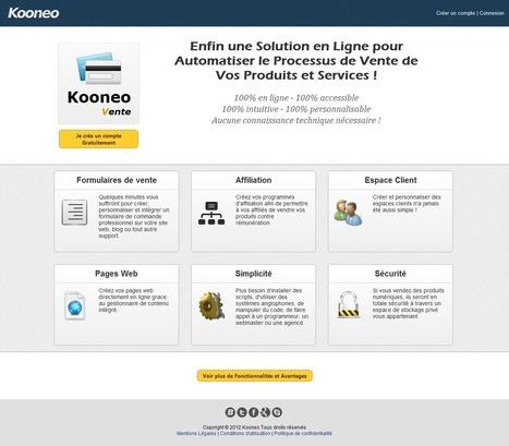 Kooneo, une solution pour automatiser vos ventes sur internet | Blog WP Inbound Marketing Leads | Scoop.it