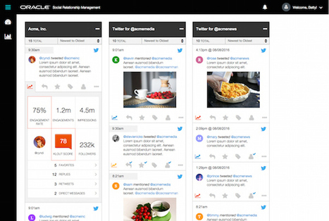 Oracle Social to Roll Out New Twitter Enhanced Customer Service Solution (Oracle Social Spotlight)   Extreme Social   Scoop.it