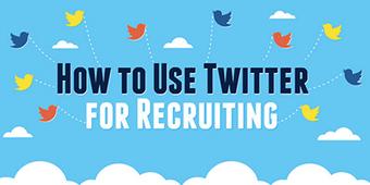 [Infographie] Comment utiliser Twitter pour recruter ?   Stratégie digitale et e-réputation   Scoop.it
