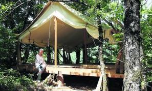 Le luxe sous la tente et sur pilotis à Villecomtal | L'info tourisme en Aveyron | Scoop.it