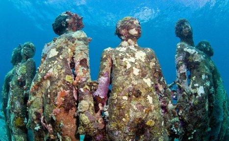 Underwater Sculpture by Jason deCaires Taylor | Arte-escultura | Scoop.it