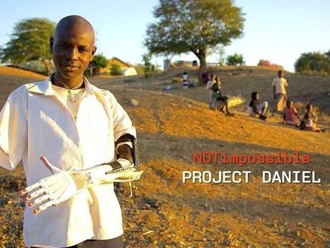 How A $100 3D-Printed Arm Is Saving The Children Of Sudan (video) | Digital Design and Manufacturing | Scoop.it