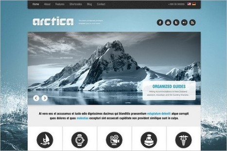 25 WordPress Themes for Travel and Adventures   WP Daily Themes   Free & Premium WordPress Themes   Scoop.it