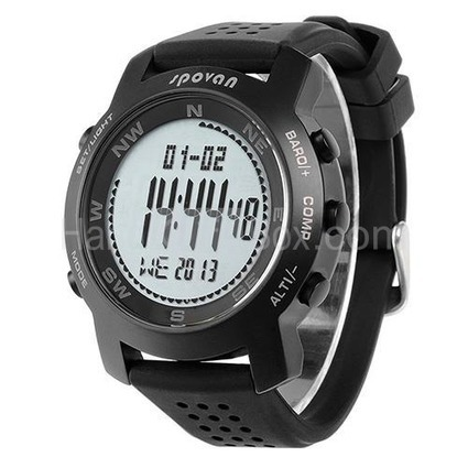 Fashional Multifunctional Outdoor Sports Watch with Altimeter/Barometer/Thermometer/Weather Forecast/Stopwatch/Compass | watch | Scoop.it