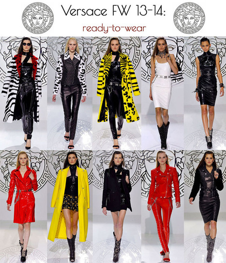 Designer Crush: Versace Fall Winter 2013-2014 ready-to-wear | Rock My Heels | G3 & ME:  Lifestyle of the Glitzy-Glam Girl | Scoop.it