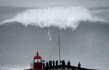 Le record de la plus grande vague jamais surfée battu au Portugal ? | Epic pics | Scoop.it